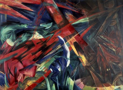 Fate of the Animals by Franz Marc art print