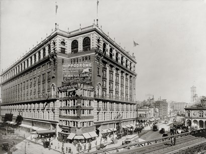 Macy's Department Store, New York, N.Y. by Print Collection art print