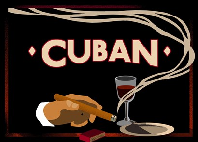 Cuban by Vintage Apple Collection art print