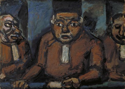 The Three Judges by Goerges Rouault art print