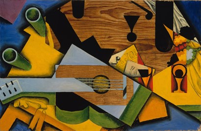 Still Life With A Guitar by Juan Gris art print
