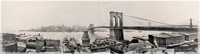 Brooklyn Bridge1901 by Mindy Sommers art print