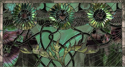 Samara's Window by Mindy Sommers art print