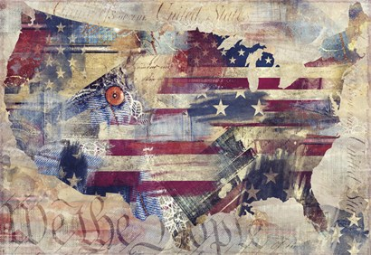 We the People by Mindy Sommers art print