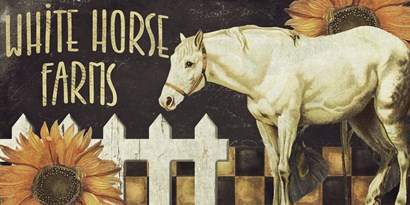 Horse by Color Bakery art print