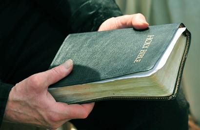 Bible by Doug Ohman art print