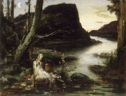 Narcissus by Gustave Moreau art print