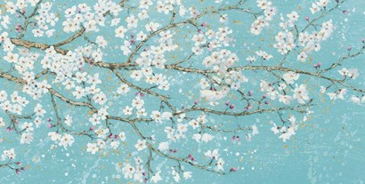 April Breeze I Teal by James Wiens art print