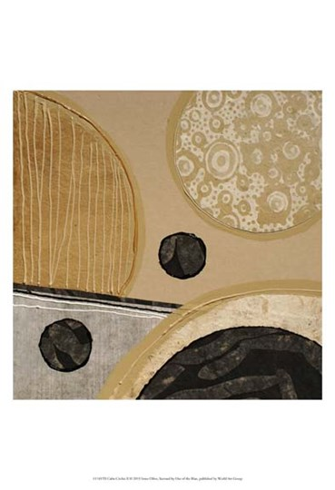 Calm Circles II by Irena Orlov art print