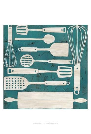 Kitchen Kitsch IV by June Erica Vess art print