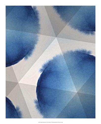 Indigo Daydream VI by Renee Stramel art print