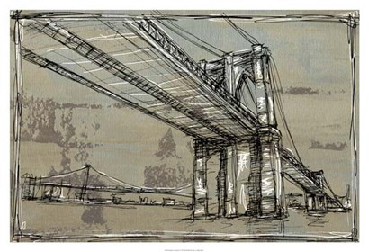 Kinetic City Sketch I by Ethan Harper art print
