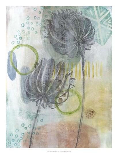 Seed Pod Composition IV by Naomi McCavitt art print