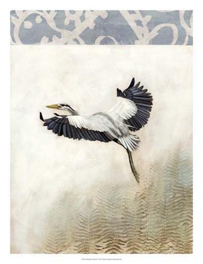 Waterbirds in Mist IV by Naomi McCavitt art print