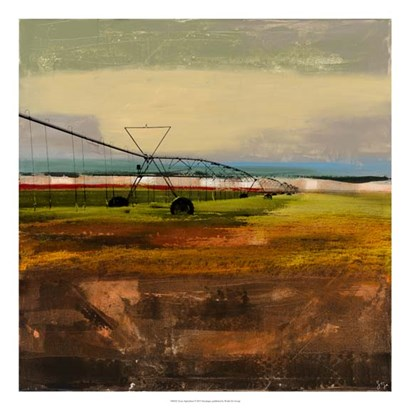 Texas Agriculture by Sisa Jasper art print