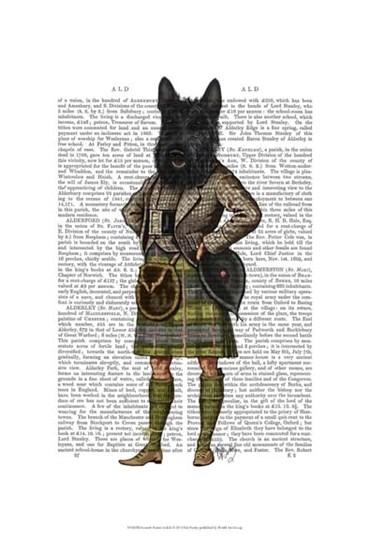Scottish Terrier in Kilt by Fab Funky art print