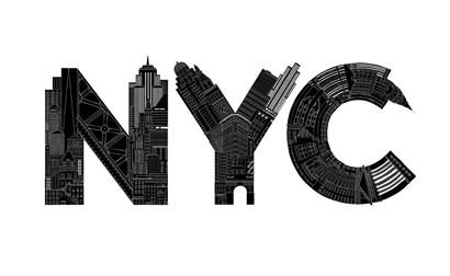 NYC by Robert Farkas art print