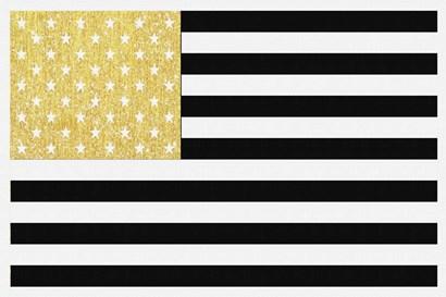 Gold Flag 2 by Natasha Wescoat art print