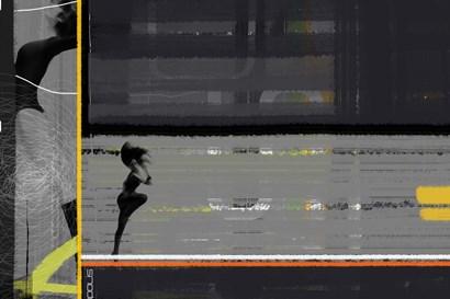 Run by Naxart art print