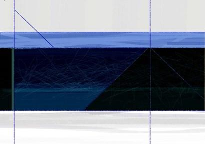 Deep Blue by Naxart art print