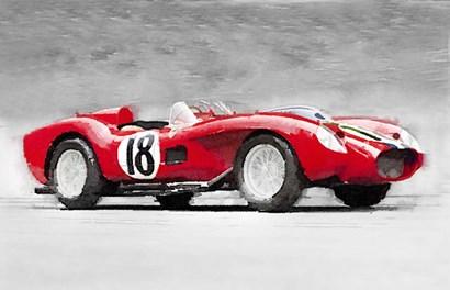 1957 Ferrari Testarossa by Naxart art print
