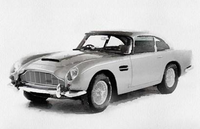 1964 Aston Martin DB5 by Naxart art print