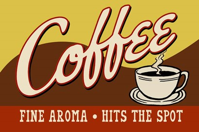 Coffee Fine Aroma by RetroPlanet art print