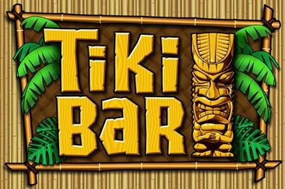 Tiki Bar by RetroPlanet art print