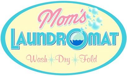 Mom's Laundromat by RetroPlanet art print