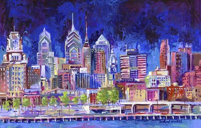 Philadelphia by Richard Wallich art print