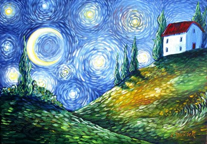 Look to the Stars by Cherie Roe Dirksen art print