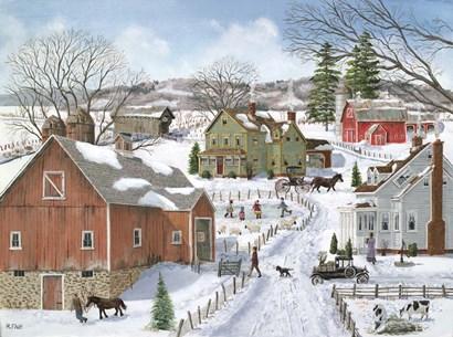 Life on the Farm by Bob Fair art print