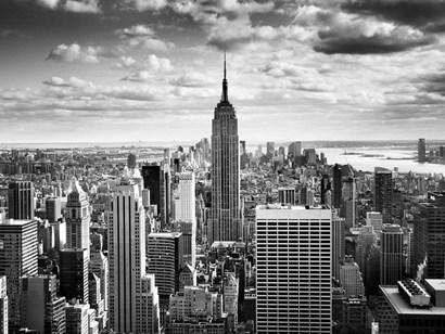 NYC Downtown by Nina Papiorek art print