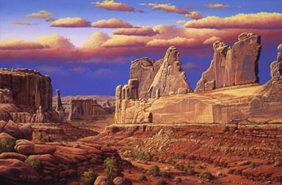 Blue Horizon by R.W. Hedge art print