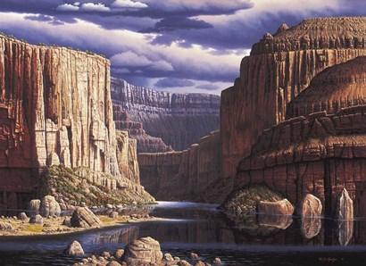 Return To Earth by R.W. Hedge art print