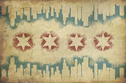 Skyline by Lantern Press art print