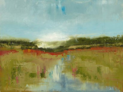 Landscape Aflutter by Ronda Waiksnis art print