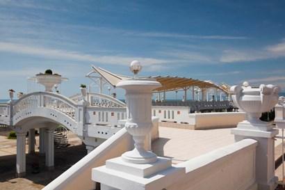 Resort at Riviera Beach, Russia by Panoramic Images art print