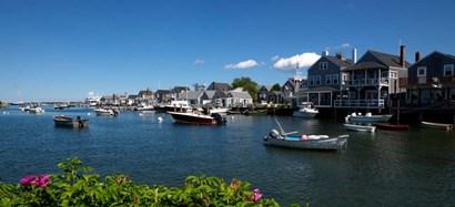 Nantucket Harbor, Massachusetts by Panoramic Images art print