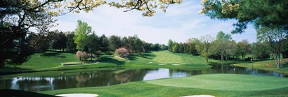 Congressional Country Club, Bethesda, Maryland by Panoramic Images art print