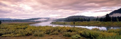 Yellowstone Park, Snake River, Wyoming by Panoramic Images art print