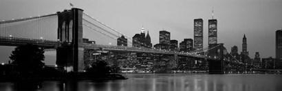 Brooklyn Bridge, Manhattan, NYC by Panoramic Images art print