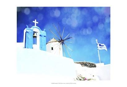Santorini I by Sylvia Coomes art print