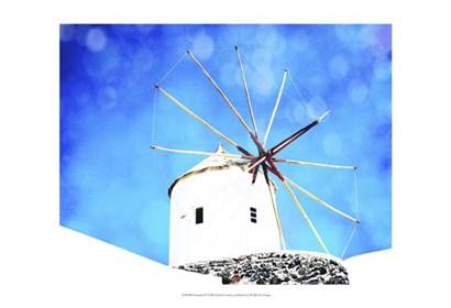 Santorini II by Sylvia Coomes art print