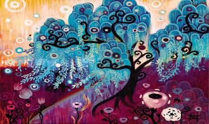 Blue Willow by Natasha Wescoat art print