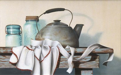 Apron Strings by Cecile Baird art print