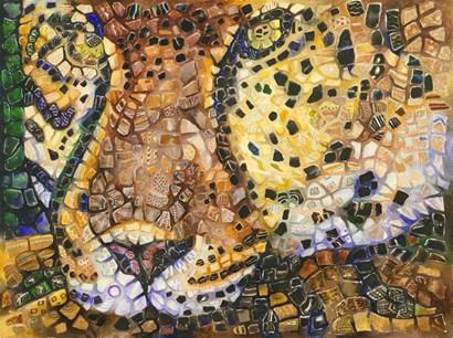 Costa Jaguar by Charlsie Kelly art print