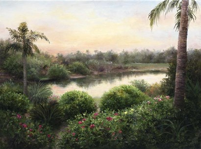Sanibel Island Sunset by Kathie Thompson art print