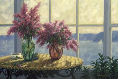 Fresh Lilacs by Randy Van Beek art print