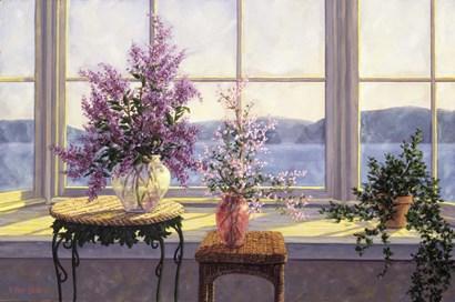 Bay Window Bouquet by Randy Van Beek art print